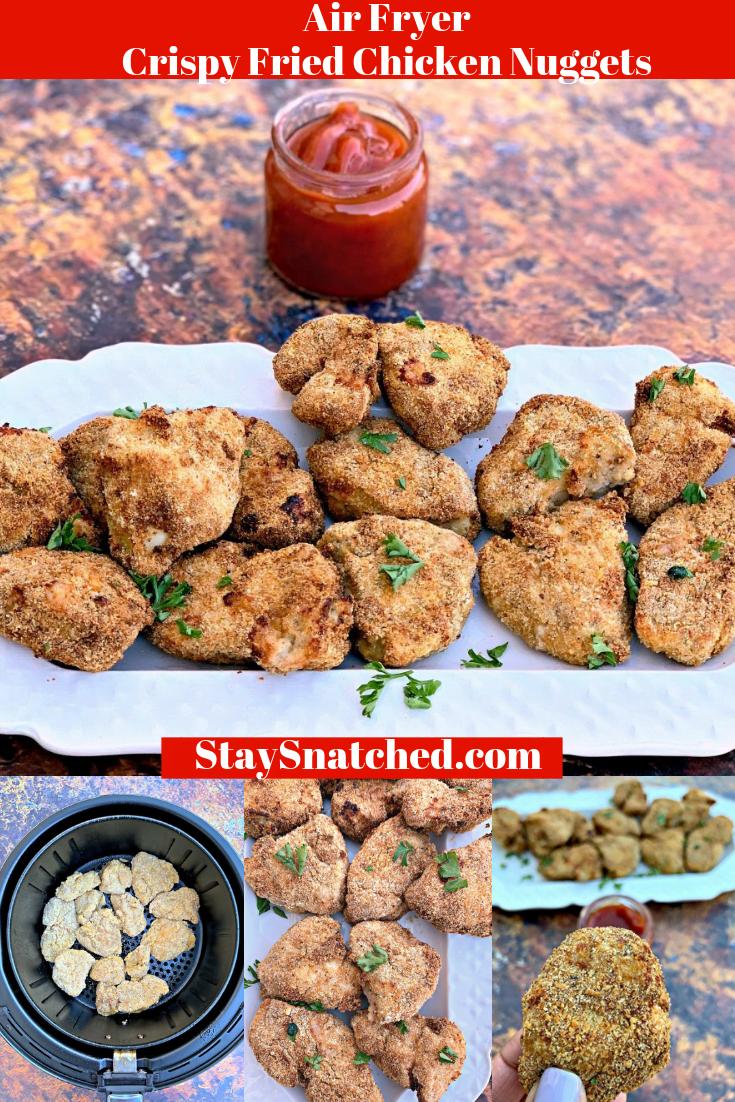 Air Fryer EBTB Chicken Nuggets Chicken nuggets, Healthy