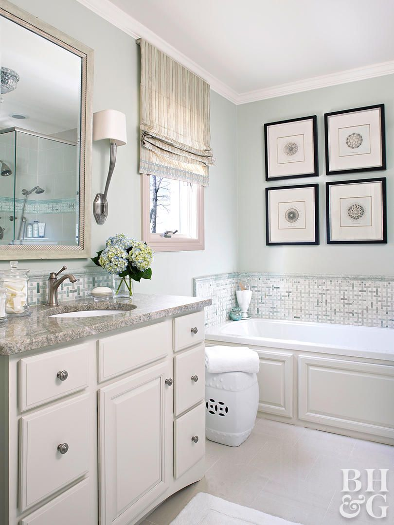 The 12 Best Bathroom Paint Colors Our Editors Swear By Best Bathroom Paint Colors Green Bathroom Amazing Bathrooms