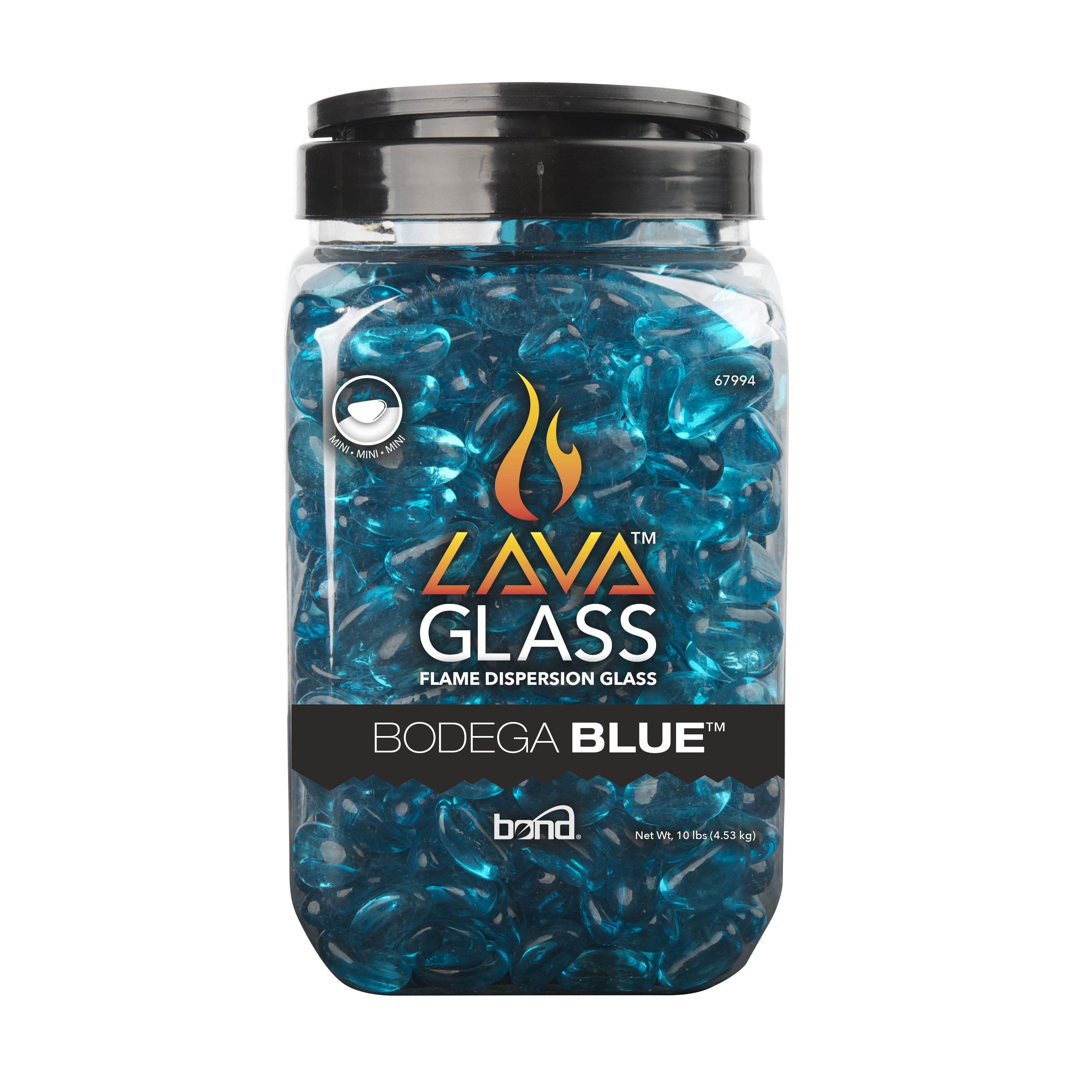 lavaglass mini blue outdoor decor lava minis and outlet store