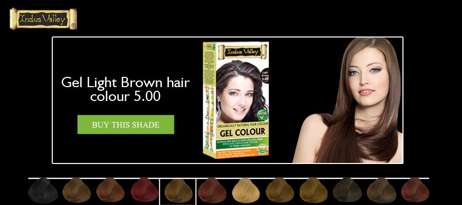 Indus Valley Damage-Free Natural Hair Color - No PPD  - NO Ammonia