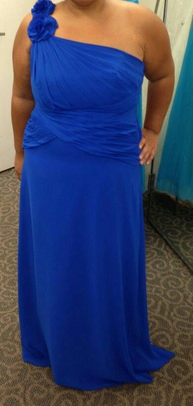 b35cf565d7 My maid of honor s dress-same dress but Horizon blue from David s Bridal.