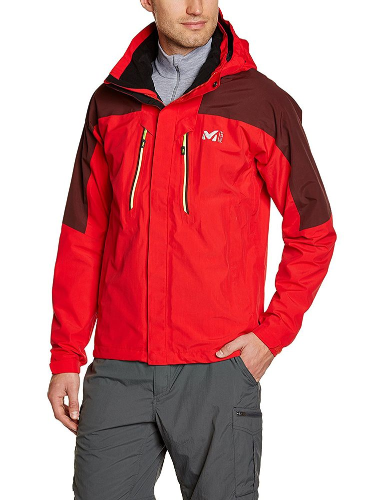 Millet Mens Hiker GTX Jacket Rouge Wine   Jackets, Mens