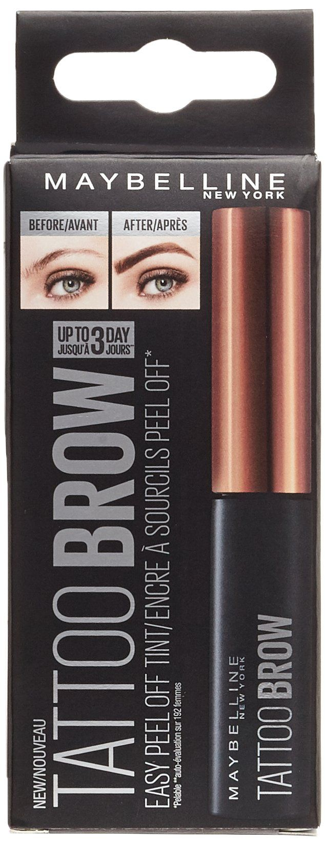 Maybelline New York Tattoo Brow Tint Medium Brown 4.9ml