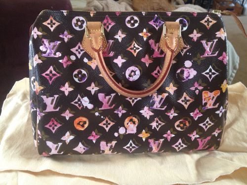 4ca1074706ff Louis Vuitton Aquarelle Speedy