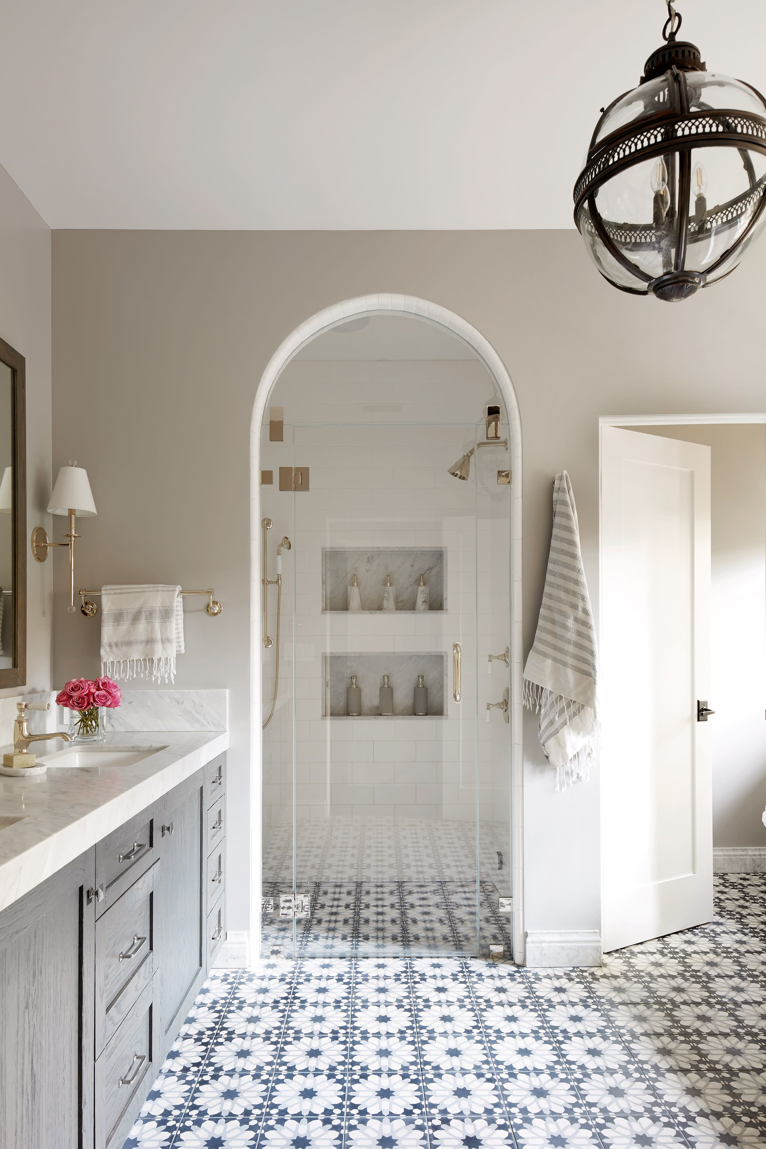 Tour A Spanish Inspired Home That S Filled With Character And Good Vibes Spanish Style Bathrooms Bathrooms Remodel Spanish Style Homes