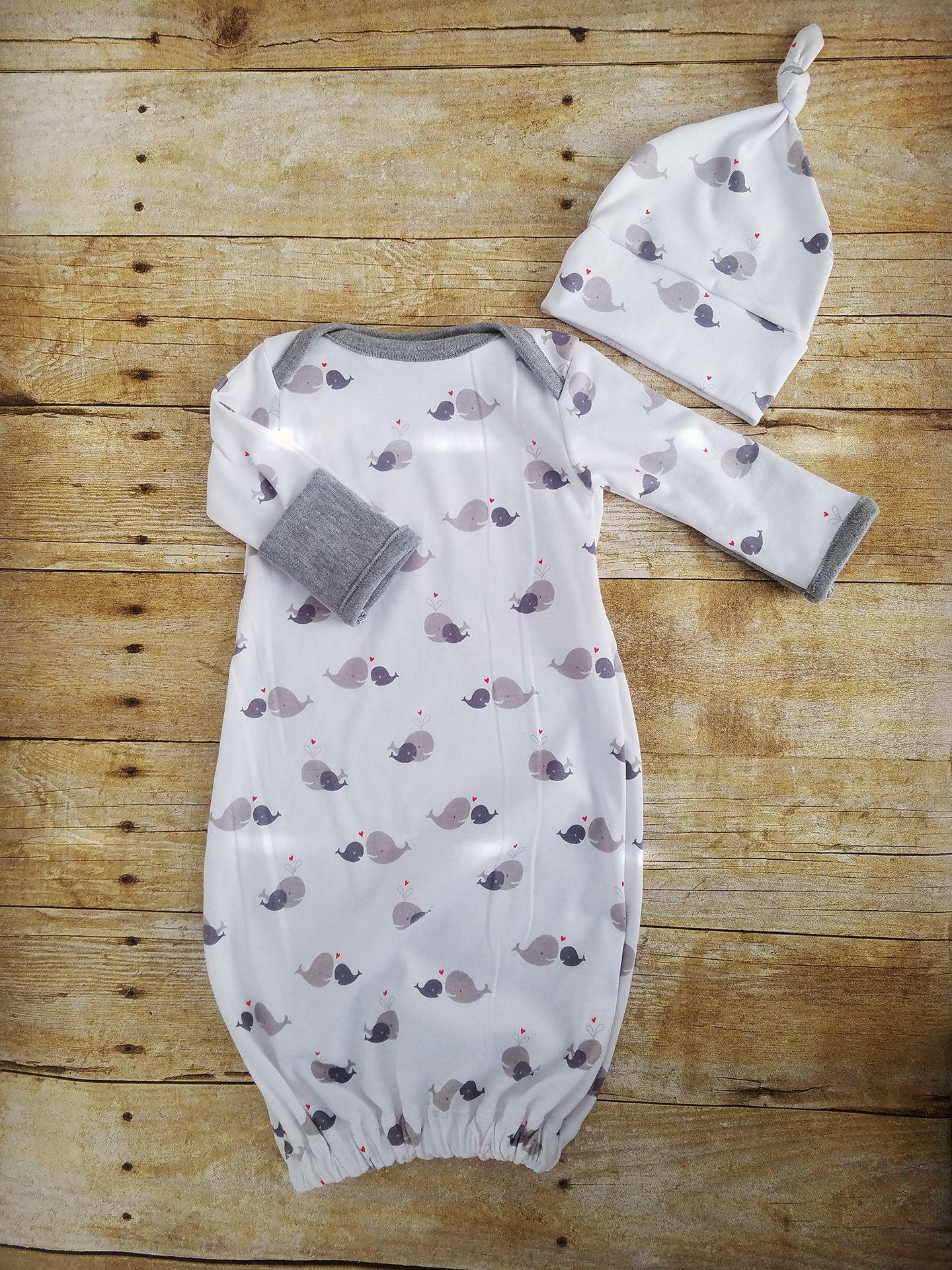 Newborn to 3 month sleep gown, sleep sack, gender neutral, baby ...
