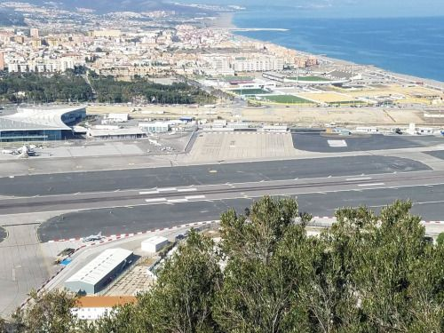 Can anyone identify the purpose of the runway markings at...