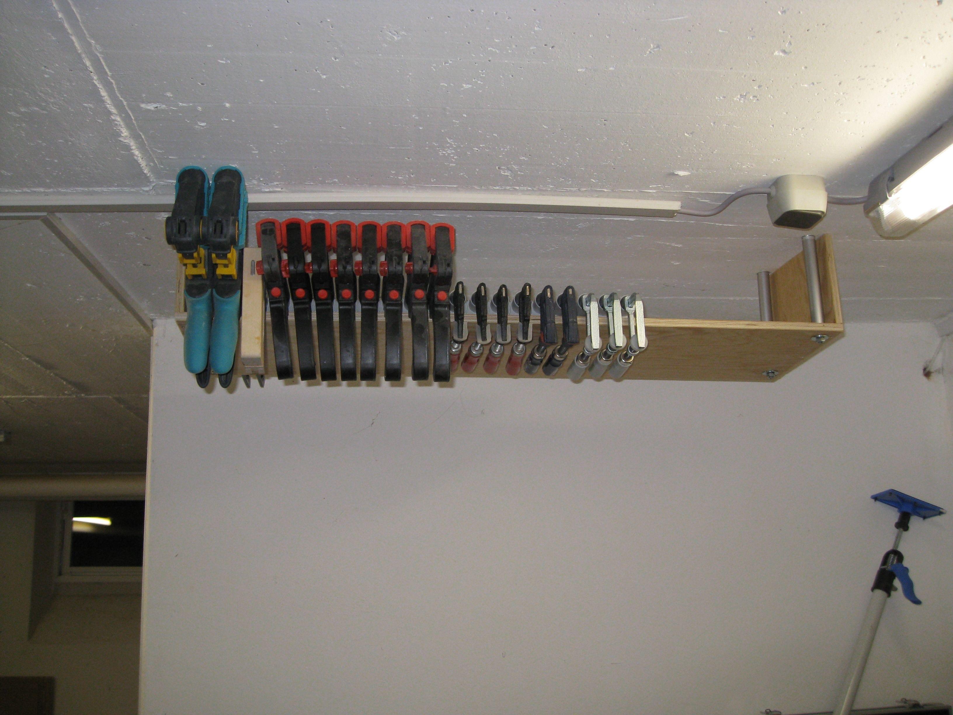 schraubzwingenhalter bauanleitung zum selber bauen best of 1 2 do projekte pinterest. Black Bedroom Furniture Sets. Home Design Ideas