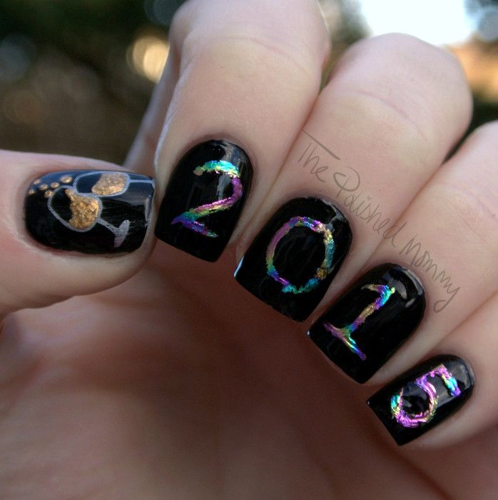 Happy New Year 2015 - The Polished Mommy | Nail It! Community Board ...