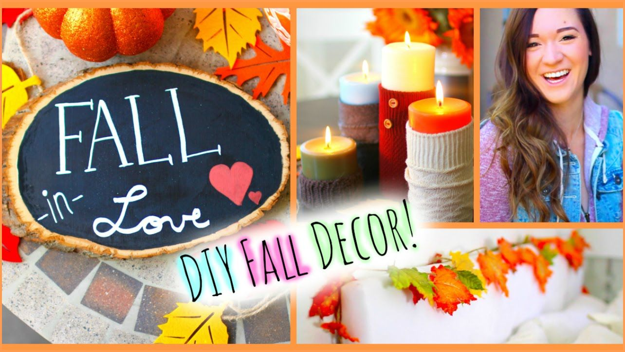 Green With Decor A Diy Fall Pillow Fall Room Decor Fall
