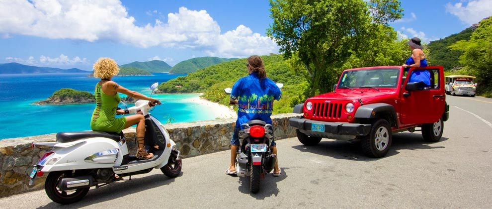 Virgin Islands Adventure Rentals | Fun Scooter And Jeep Rentals In St.  Thomas And St