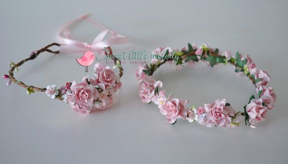 Mother & Daughter Flower Crown Mother and by #SweetLittleMelody #flowercrown #floralcrown #flowerheadband #floralheadband #flowerhalo #flowergirl #flowergirlcrown #weddings #wedding #weddingflowers #weddingideas #weddingstyle #bridestyle #weddingdress #weddingplanning #bridetobe #bridehair #bride #bridalhairaccessories #flowercrowns #rusticwedding #bridesmaids #bridesmaidhair #bridesmaidflowercrown #vintagewedding
