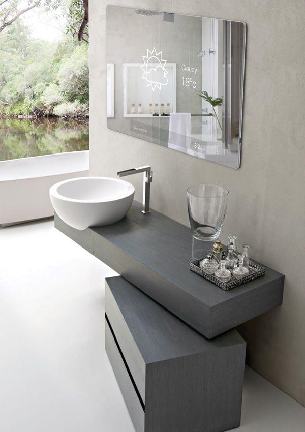 mirror 2.0 – der smartphone-spiegel fürs badezimmer | interior, Badezimmer