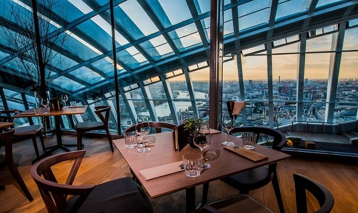 Top 10 Restaurants With The Best View With Images London Restaurants Best Places In London Top 10 Restaurants