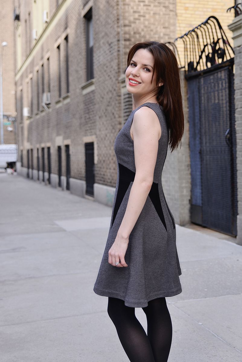 DKNY Vogue 1421 at www.littlegreenorchids.com   sewing stuff   Pinterest    Vogue, Sewing and Womens fashion