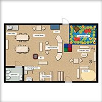 This Is An Awesome Floorplanner For Your Pre K Classroom I