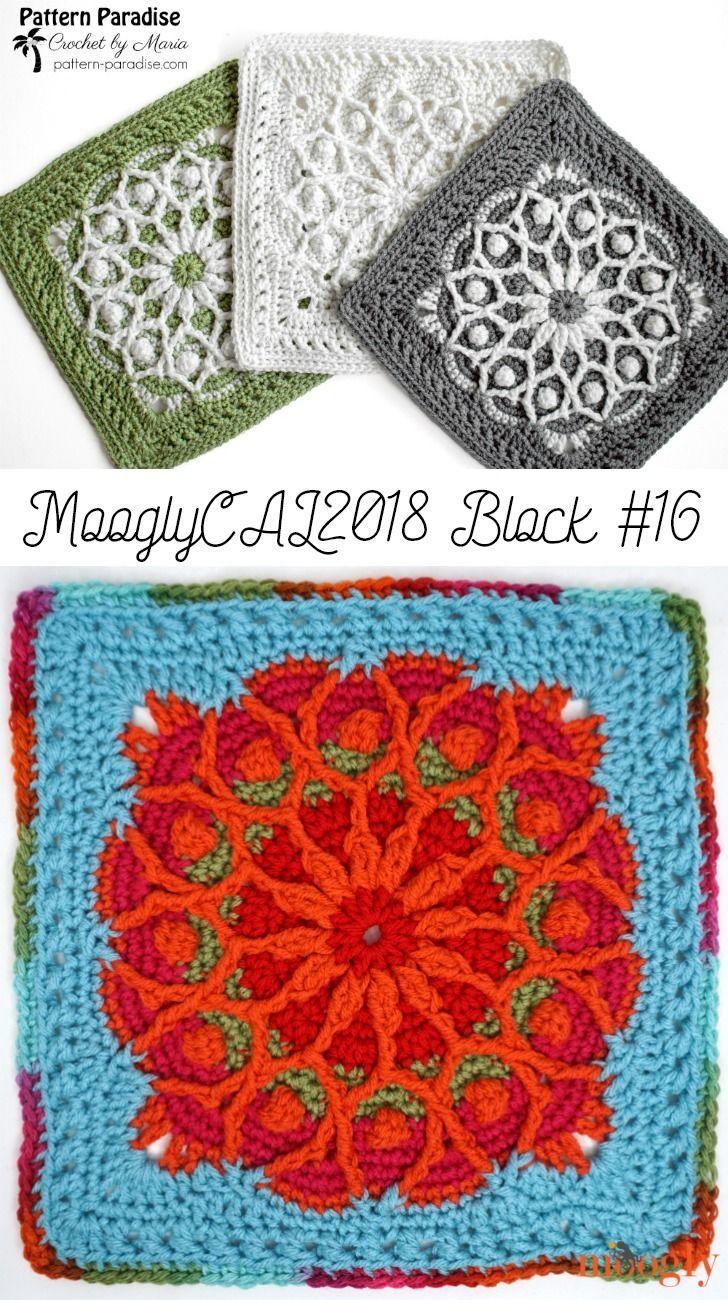CAL 2018 – Afghan Block #16 by Pattern Paradise! | crochet ...