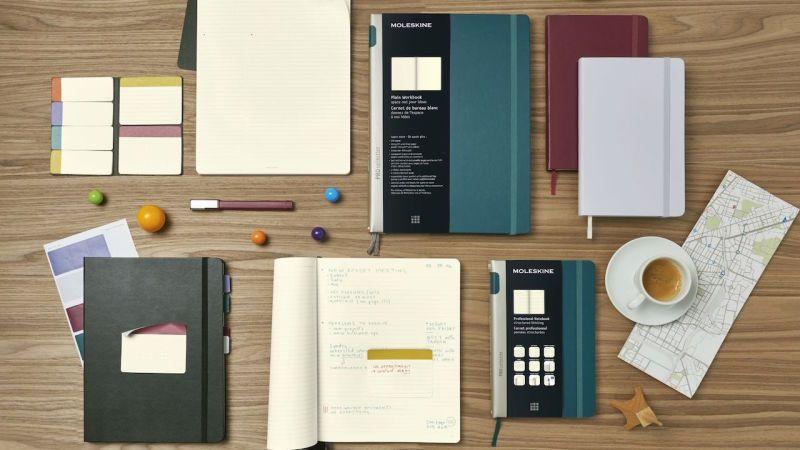 Moleskine Unveils New Notebooks Designed For Productivity And Organization Moleskine Notebook Design Cool Notebooks