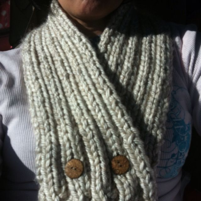 Neck Scarf I made for my dad