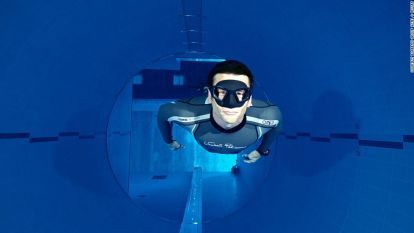 World's deepest swimming pool Plunge into Y40 Deep Joy