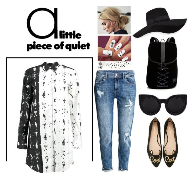 """""""Untitled #35"""" by marcy-marzipan on Polyvore featuring Kate Spade, San Diego Hat Co., Puma and MM6 Maison Margiela"""