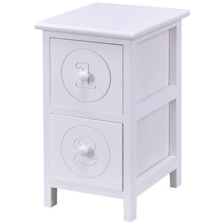 Inspirational Bedside Table with Storage