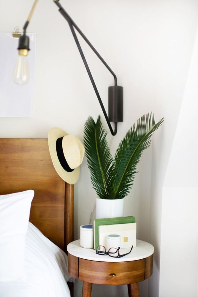 clever nightstand alternatives (for small-spaces!) | Bedrooms ...