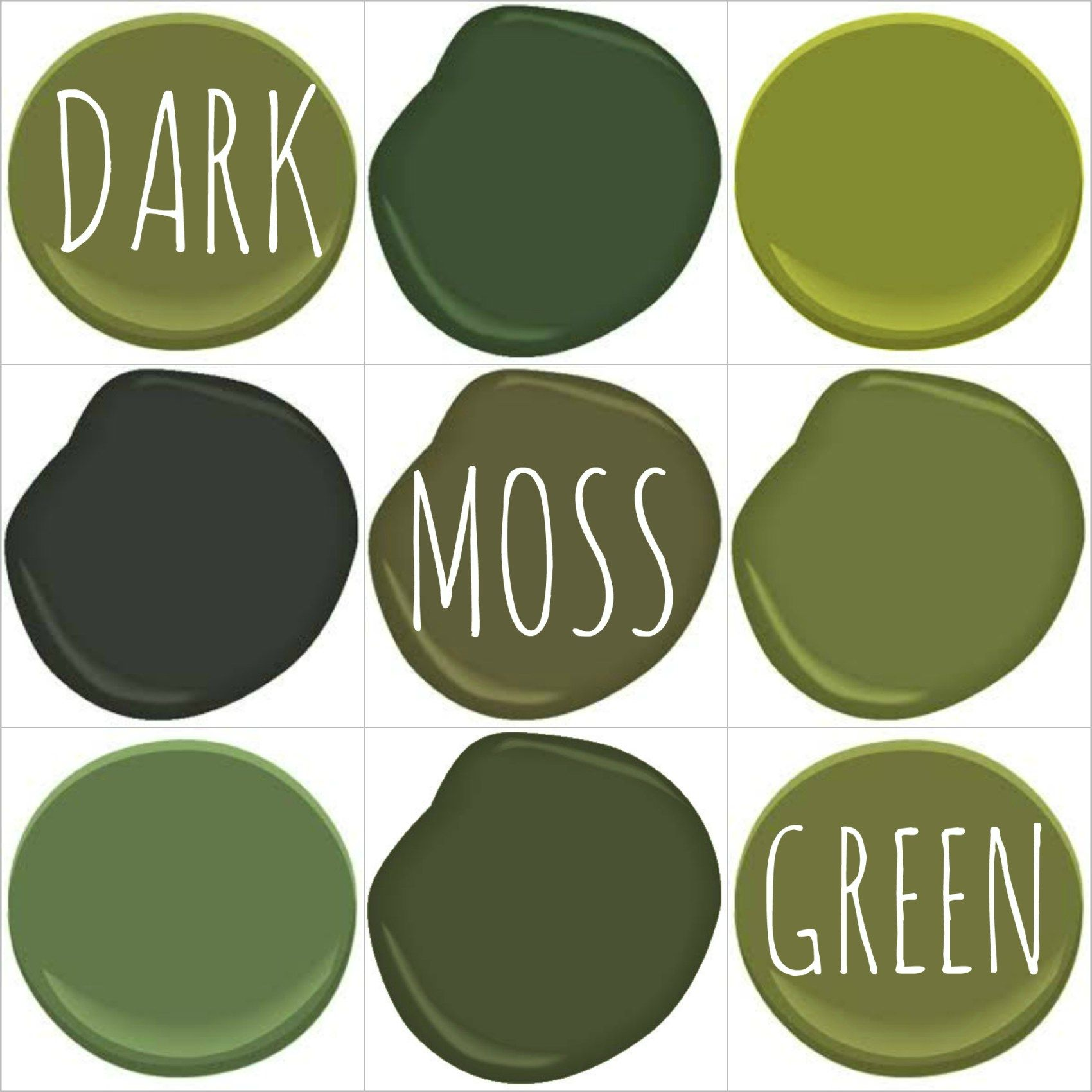 Moss Green Paint Colors: COLOR ON TREND – DEEP MOSSY OLIVE GREEN