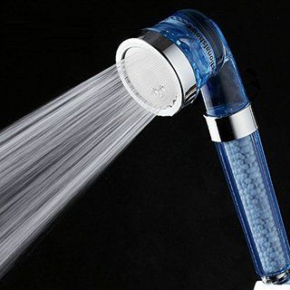 Efluky Hand Shower Head Water Saving Ionic Filter Chlorine