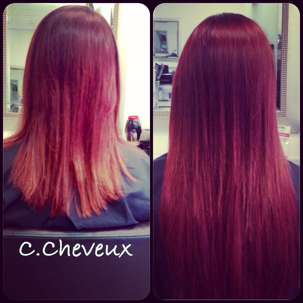 Before And After Balmain Hair Extensions Balmain Hair Extensions