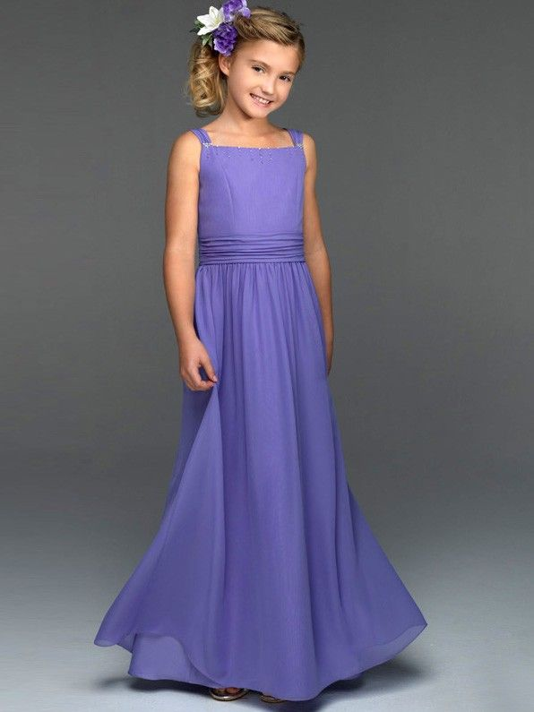 Girls Long Party Dresses - Ocodea.com