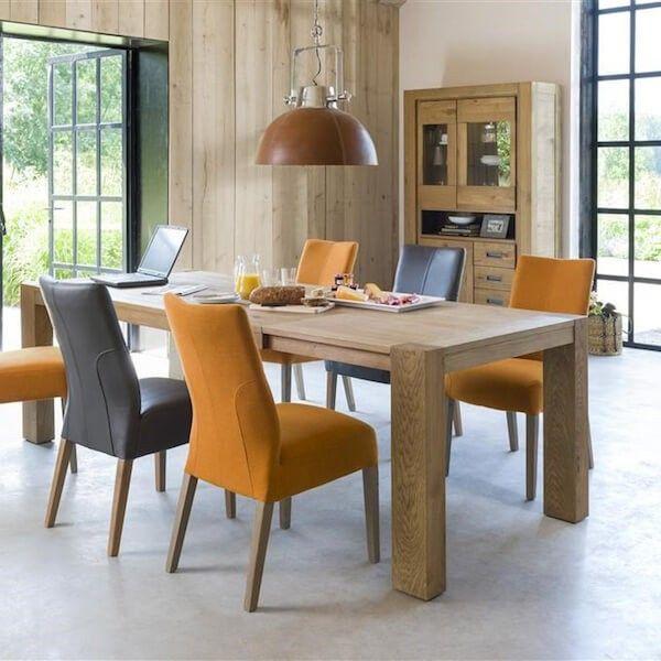 Heth Table A Rallonge Santorini 160 205cm Home Decor Furniture Dining Chairs