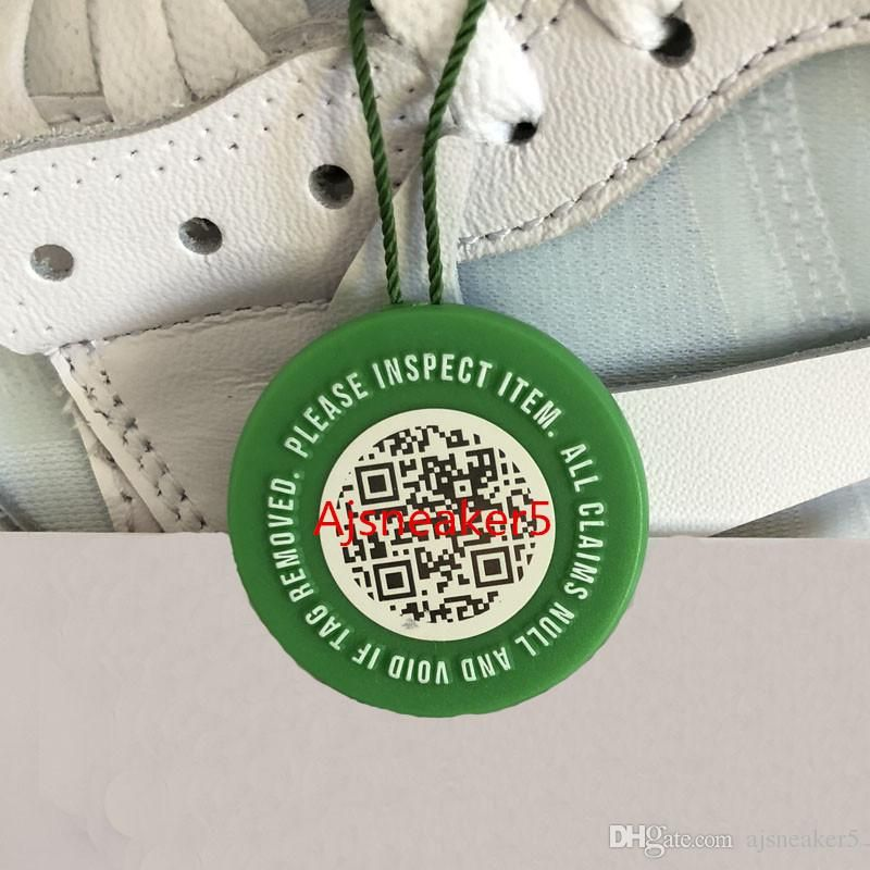 New StockX QR Code Tag Verified X Authentic Tag Plastic Shoe