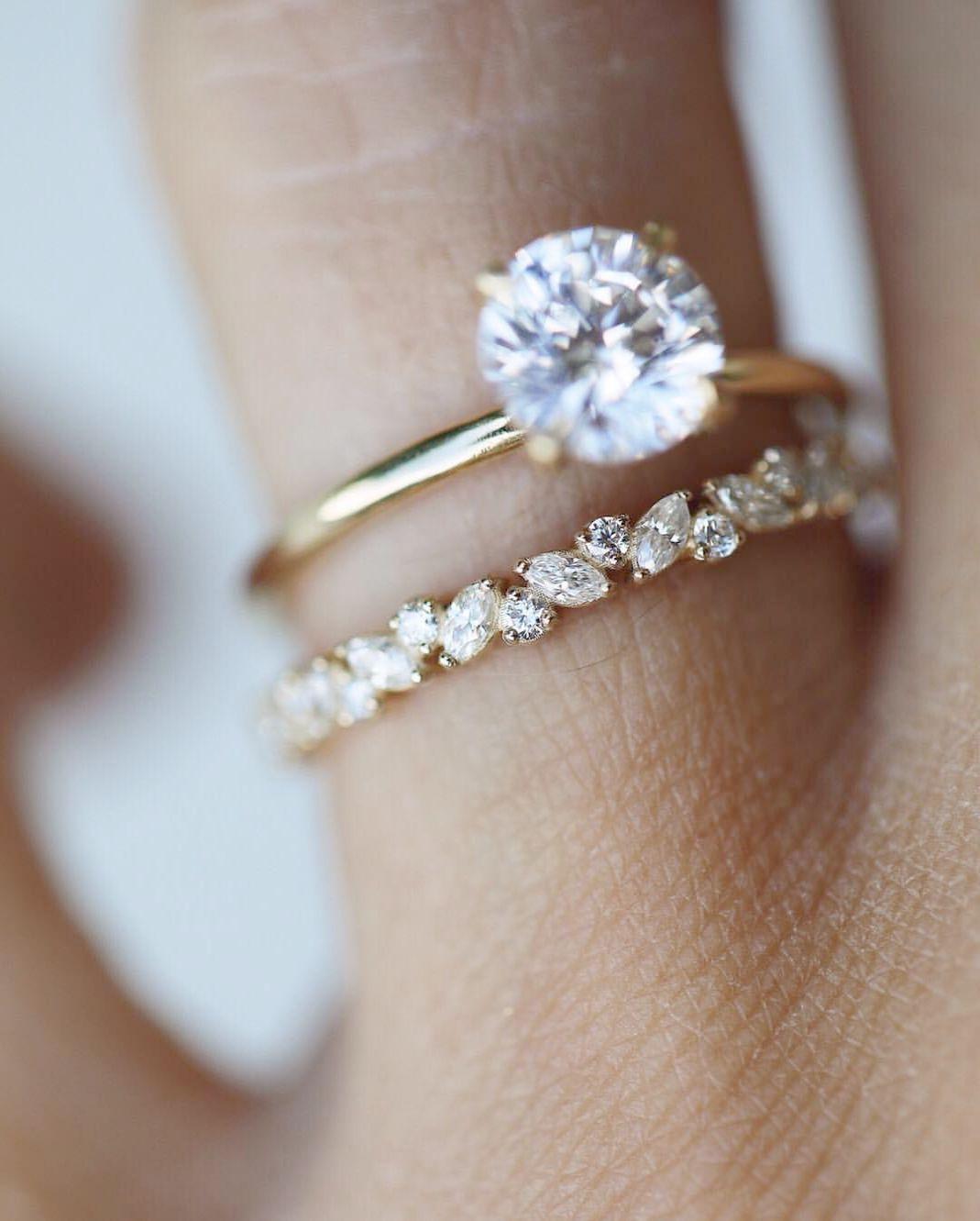 2 Carat Diamond Engagement Rings Costco Opposite Engagement Ring Champag Vintage Engagement Rings Unique Moonstone Engagement Ring Set Vintage Engagement Rings