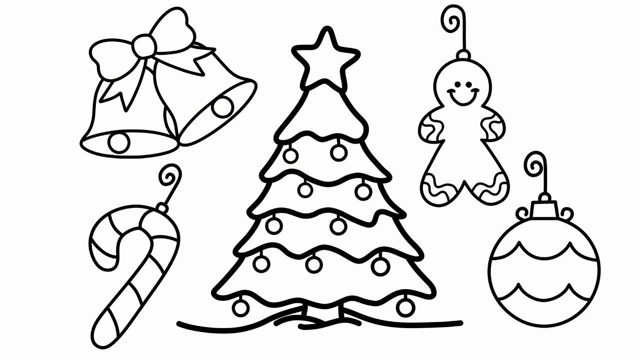 Christmas Tree Coloring Sheet Christmas Tree Drawing Christmas Tree Coloring Page Christmas Tree Drawing Easy
