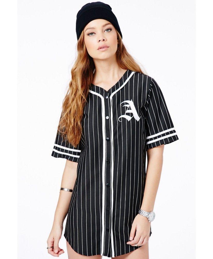 Baseball shirt dress google search fashion pinterest for Baseball jersey shirt dress