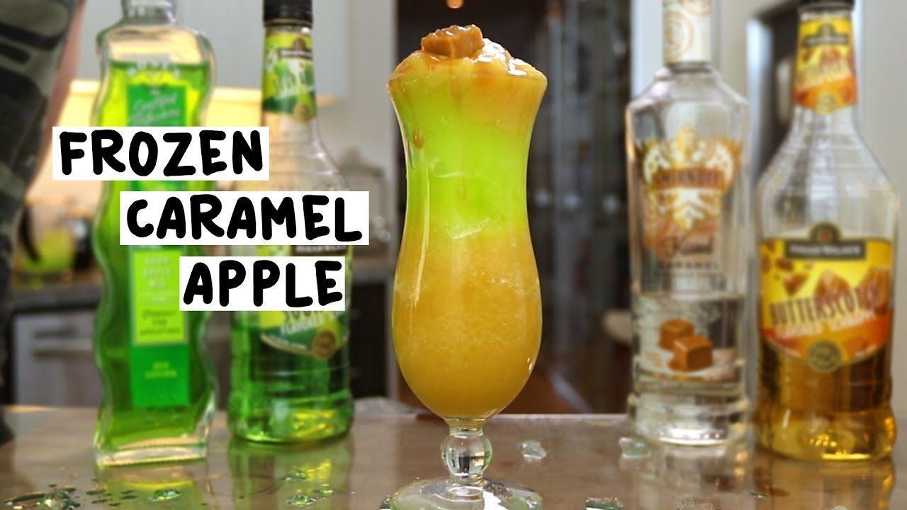 The Frozen Caramel Apple - Tipsy Bartender - #apple #bartender #caramel #frozen #tipsy - #Schnapps