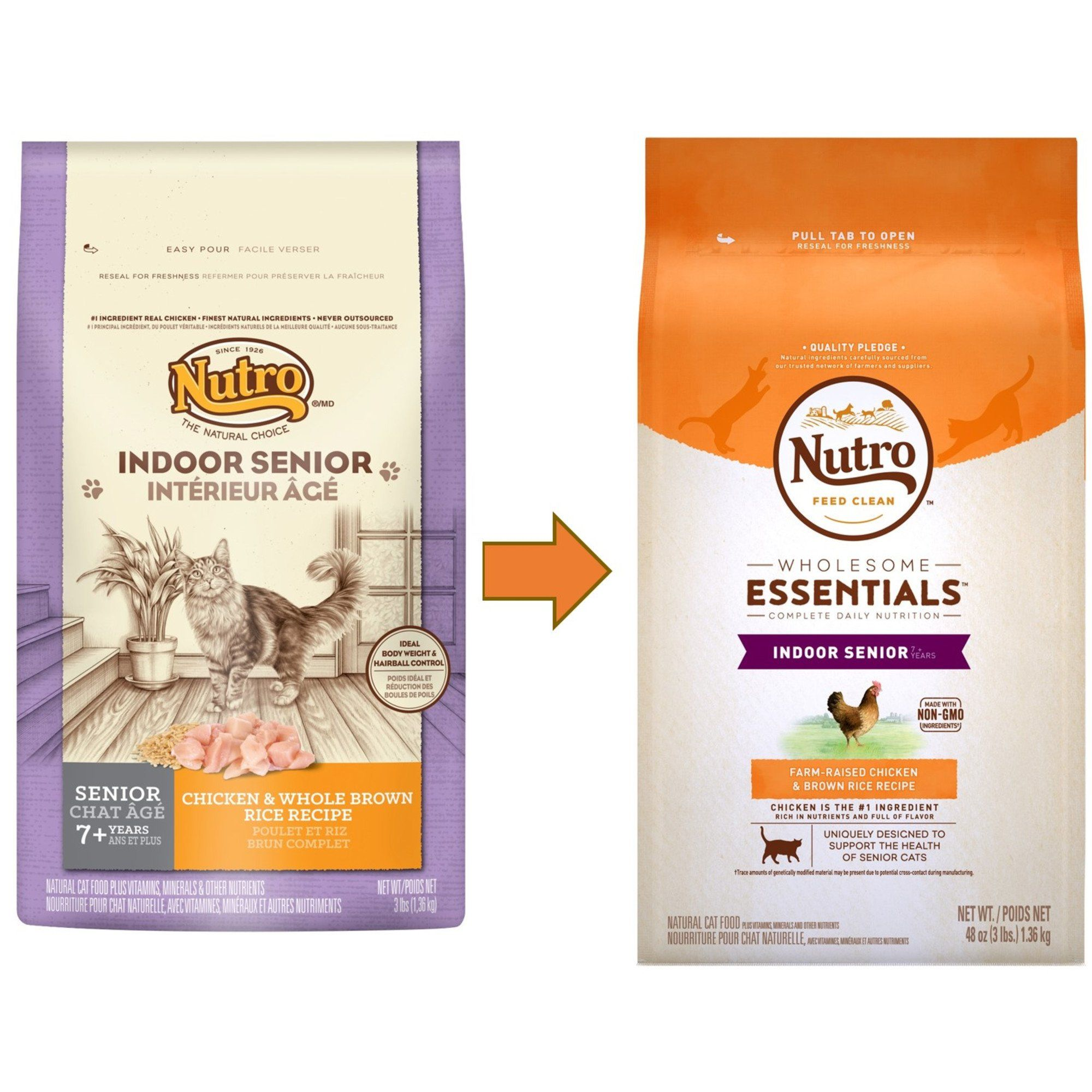 Nutro Wholesome Essentials Senior Indoor For Healthy Weight Farm