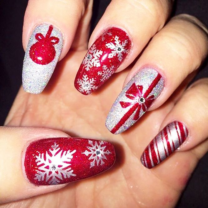 Christmas Designs For Your Nails: Christmas Nails To Complete Your Unforgettable Holiday