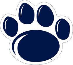 Penn State Car Magnet Medium New Paw 4 Nittany Lions Psu Penn State Lion Paw Penn State Logo