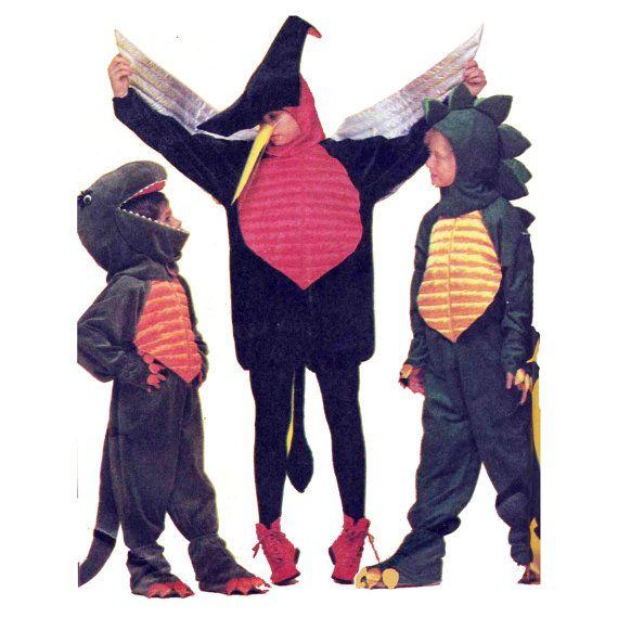 Halloween Costumes Pattern T Rex Stegosaurus & by PatternAndStitch ...