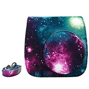 Amazon Com Elvam Great Galaxy Cotton Canvas Fujifilm Instax Mini