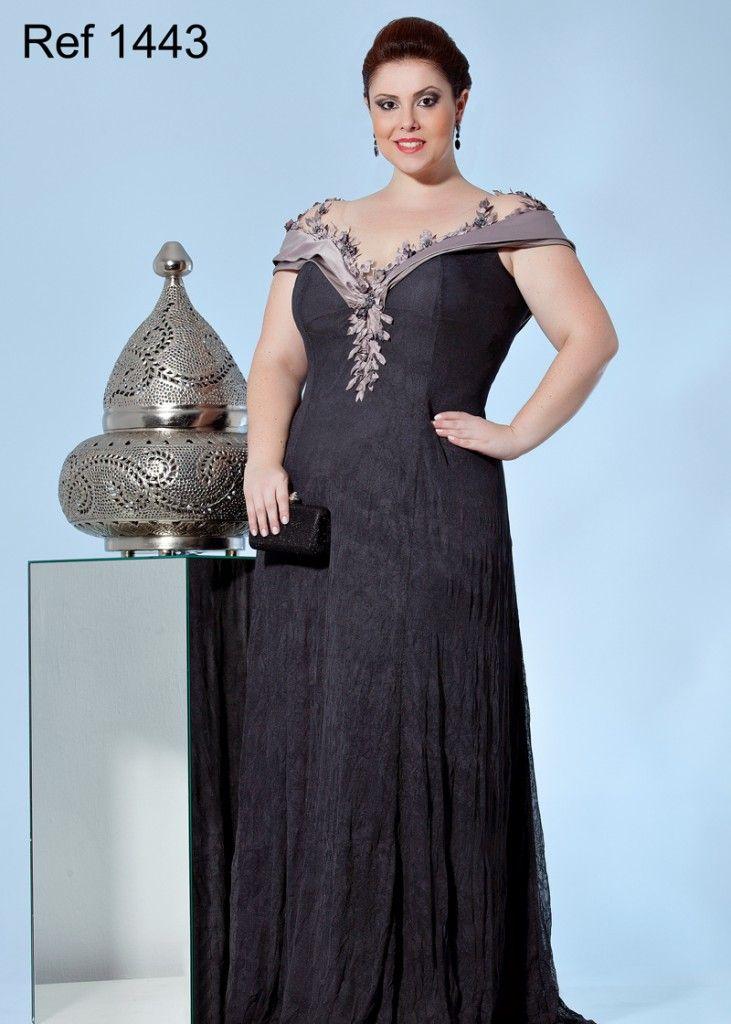 vestidos plus size aiza collection vestidos de festa pinterest abendkleid kleider und mode. Black Bedroom Furniture Sets. Home Design Ideas