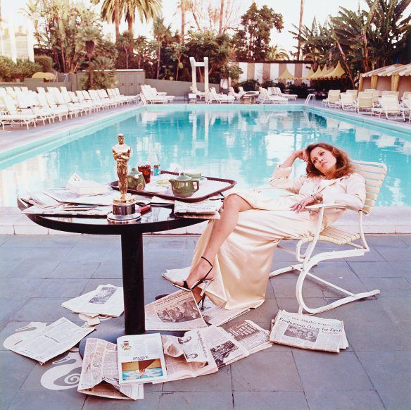 Terry O'Neill, Faye Dunaway Hollywood 1977