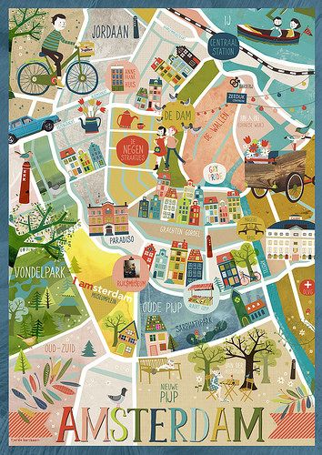 Amsterdam In 2020 Amsterdam Travel Travel Maps Travel Posters