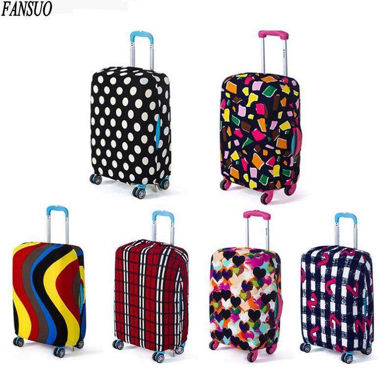 Reisegepäck Koffer Schutzhülle Elastische Koffer Staubabdeckungen ...