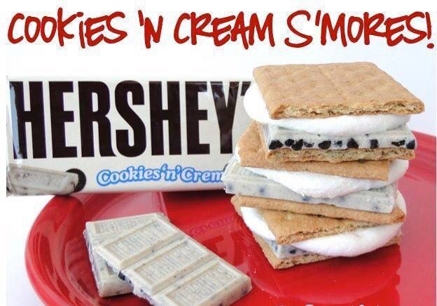 Cookies and cream Smore's