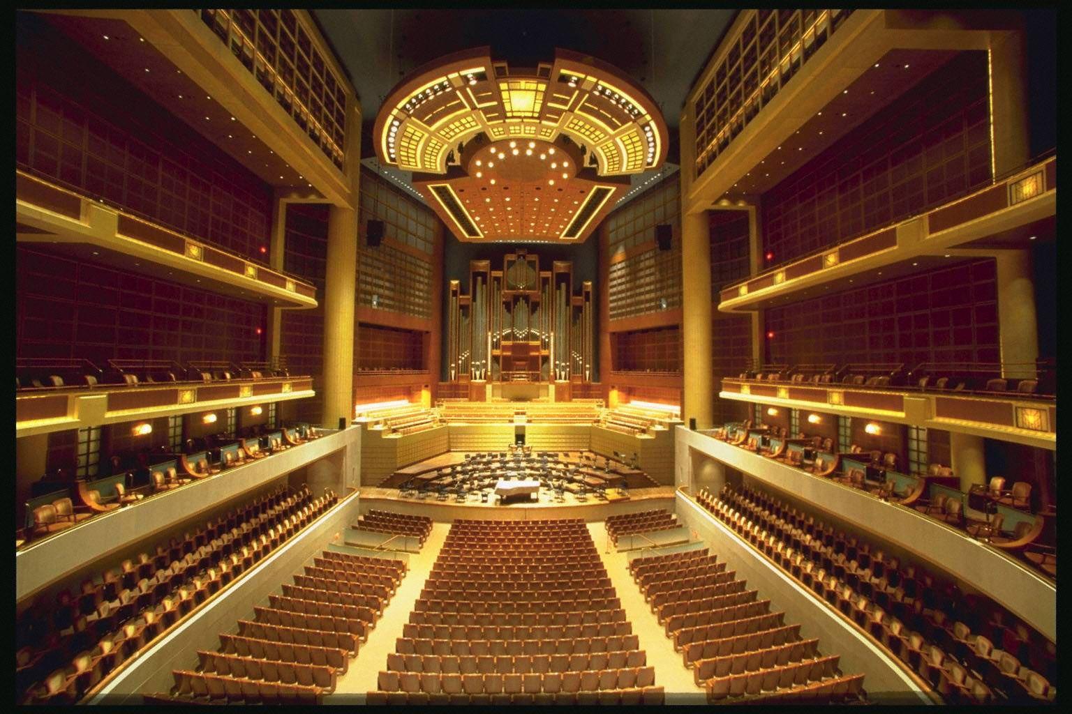 Meyerson Symphony Center, Dallas, Texas | Favorite Places & Spaces ...