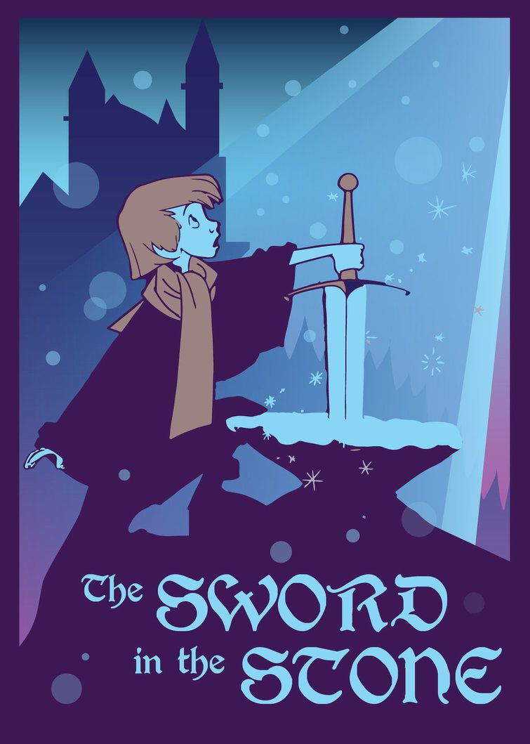 The Sword In The Stone By Great Oden On Deviantart Sword In The