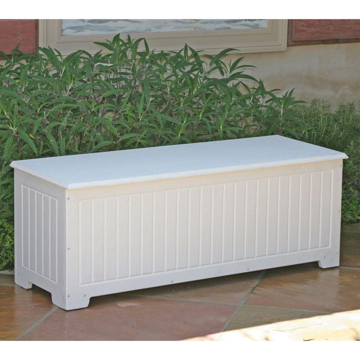 Sydney Flat Top Deck Box 299 00 Outdoor Storage Bench Outdoor